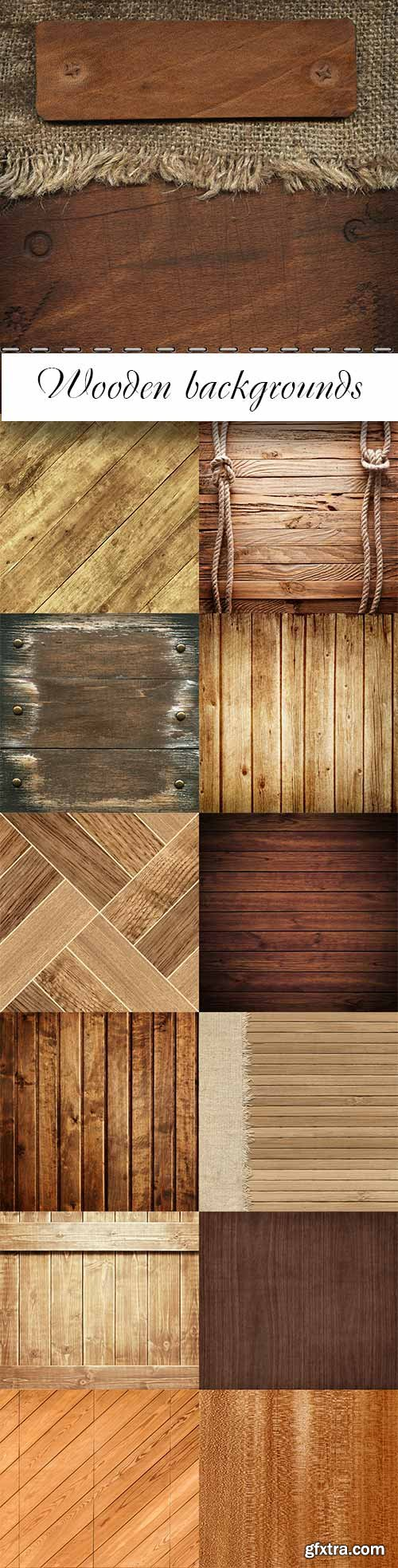 Excellent wood backgrounds