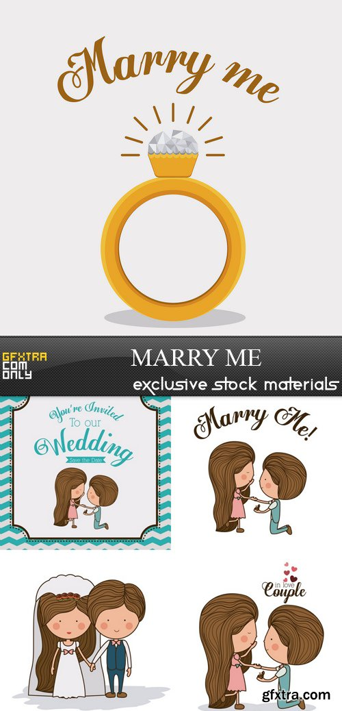 Marry Me - 5xEPS