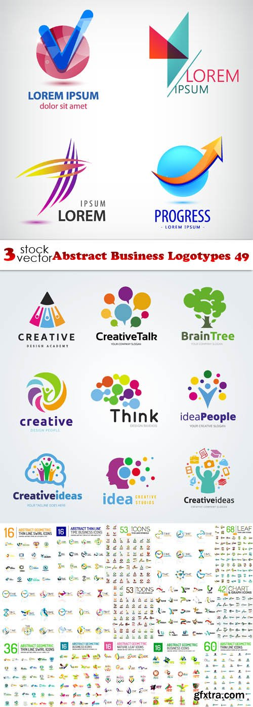 Vectors - Abstract Business Logotypes 49