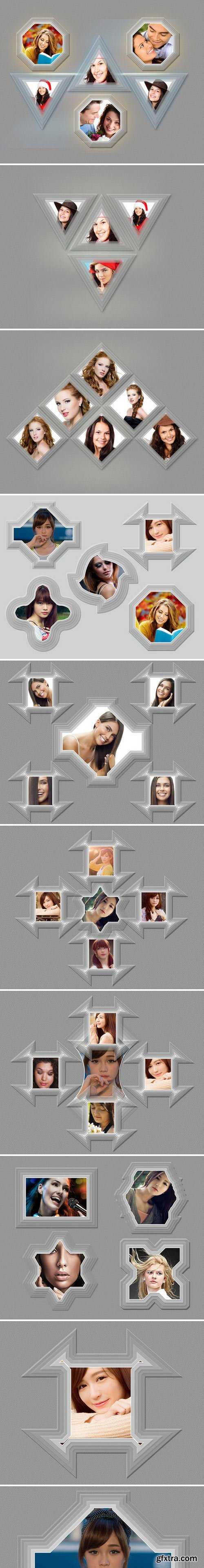 CM - Photo Frame Template(20 in 02 PSD) 1019521