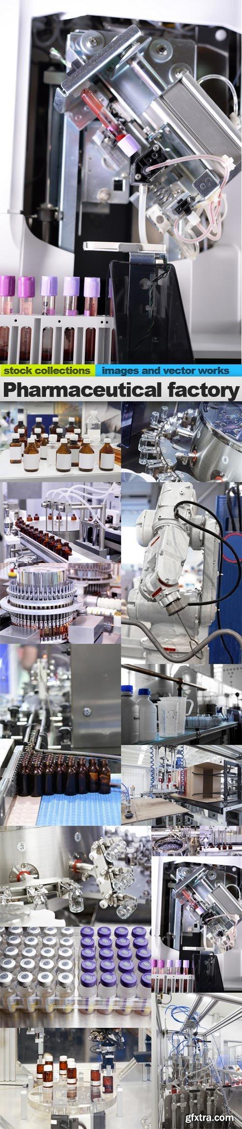 Pharmaceutical factory, 15 x UHQ JPEG