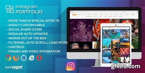 CodeCanyon - Instagram Portfolio v1.3.2 - Wordpress Plugin - 11353958