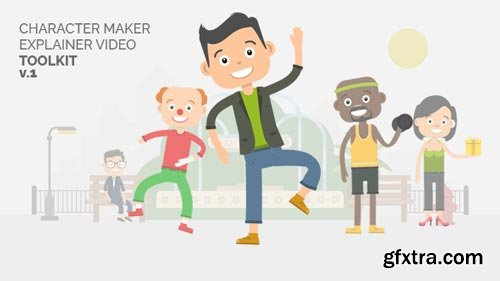 Videohive - Character Maker - Explainer Video Toolkit - 18731193