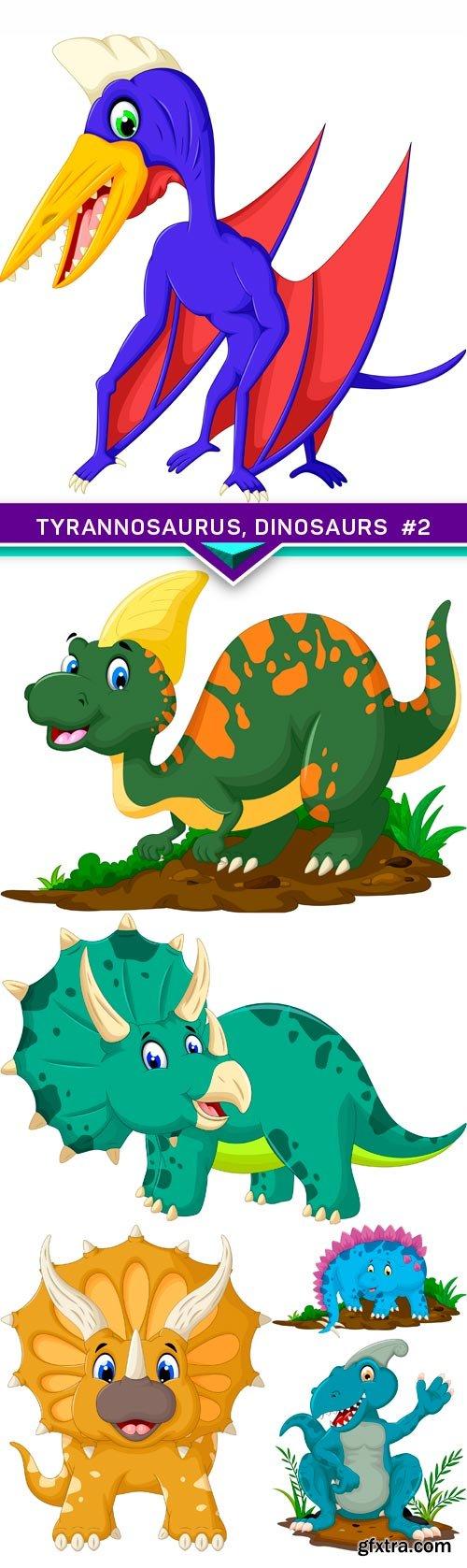 Tyrannosaurus, dinosaurs #2 6X JPEG