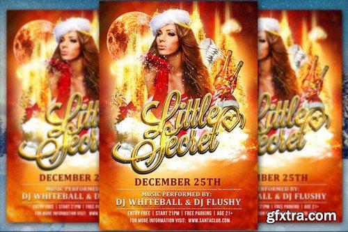 CM - Little Secret Christmas Flyer 930818