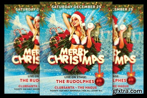 CM - Merry Christmas Flyer 963800