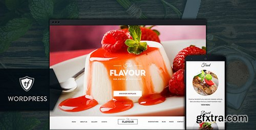 ThemeForest - The Flavour v2.0.3 - Restaurant WordPress Theme - 8295484