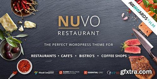 ThemeForest - NUVO v5.6.4 - Cafe & Restaurant WordPress Theme - Multiple Restaurant & Bistro Demos - 9001349