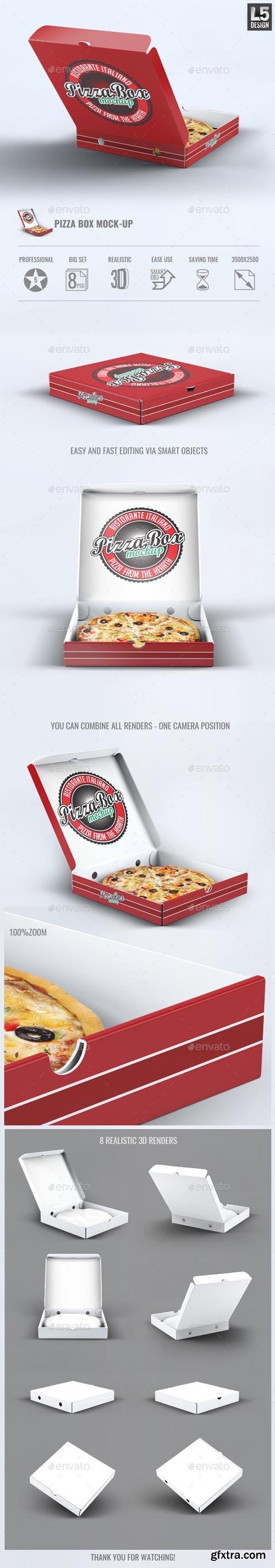 GR - Pizza Box Mock-Up 13417662