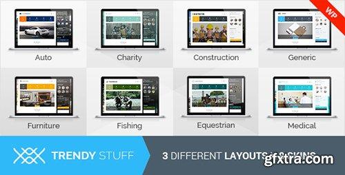 ThemeForest - TrendyStuff v1.4 - Multiconcept WordPress Theme - 10191228