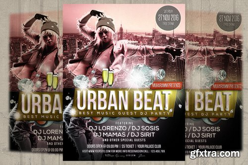 CM - Urban Beat Flyer / Poster 1011111