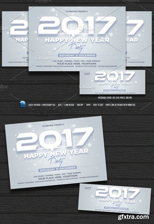 CM - New Year Party Flyer 1020314