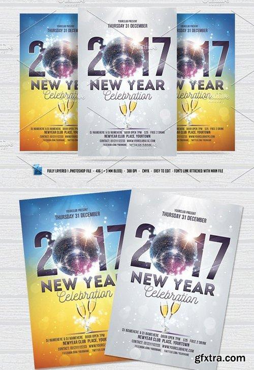 CM - New Year Celebration Flyer 1000498