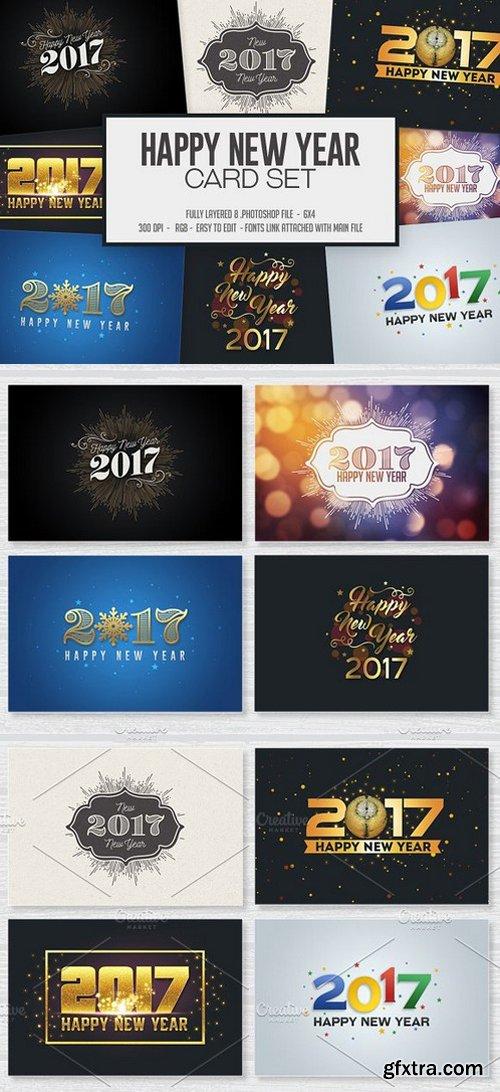 CM - Happy New Year Card / Invitation Set 1014702