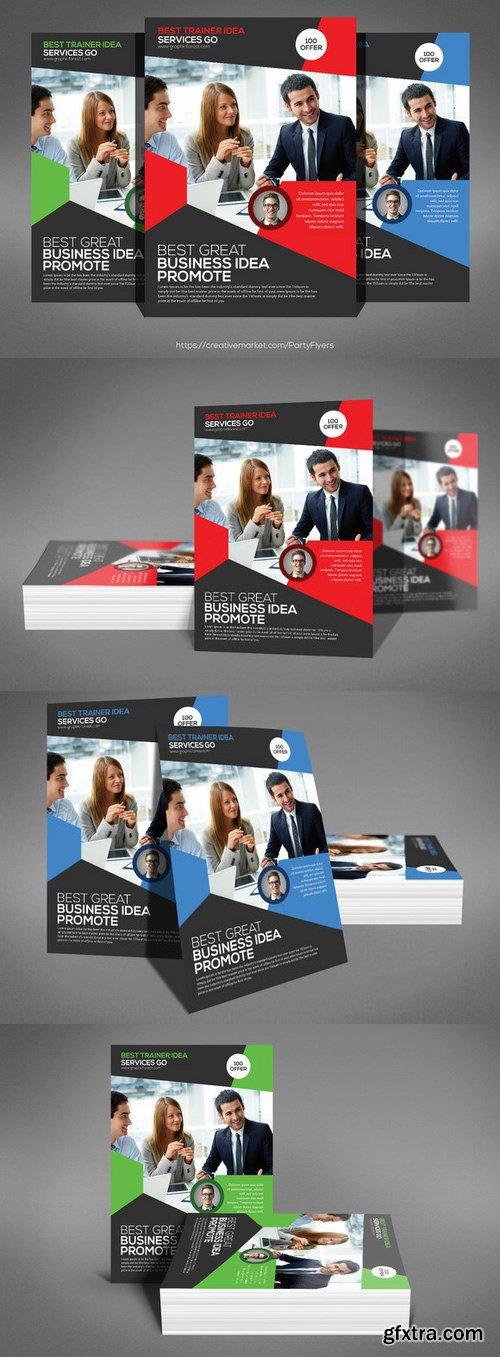 CM - Business Flyer Psd Template 746541