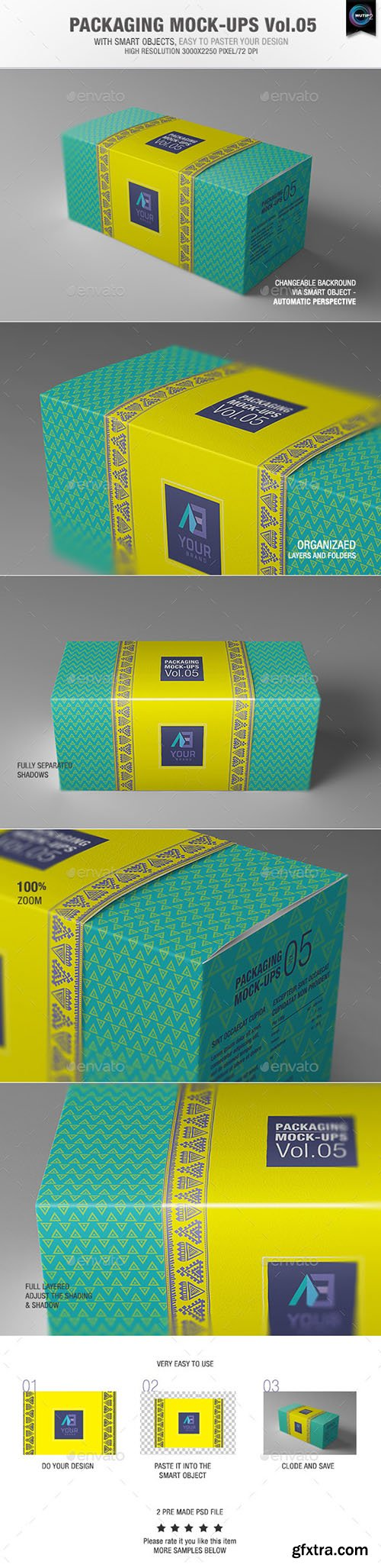 Graphicriver Packaging Mock-ups 5 9269705