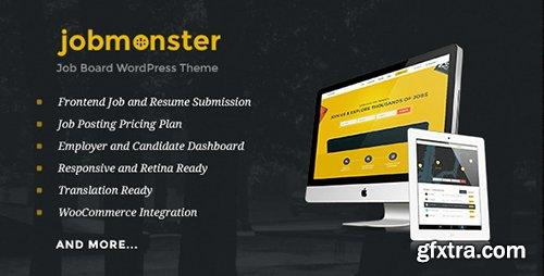 ThemeForest - Jobmonster v4.0.2.1 - Job Board WordPress Theme - 10965446