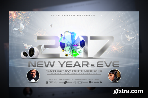 CM - New Years Eve Flyer Template 959956