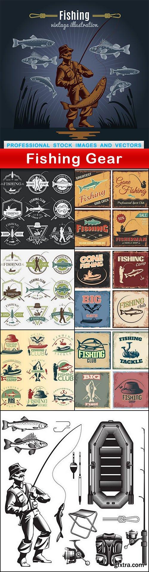 Fishing Gear - 8 EPS