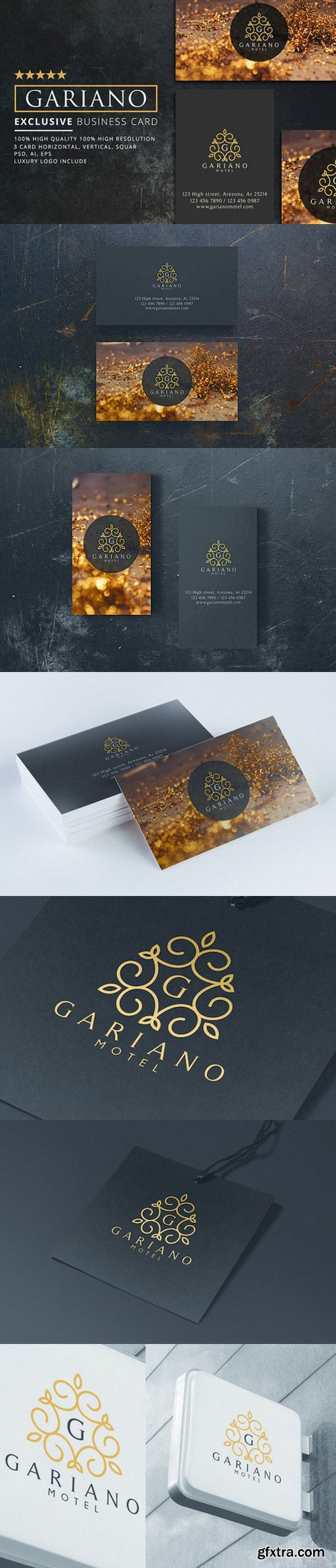 CM - Gariano Luxury Business Card 3 in 1 1015971