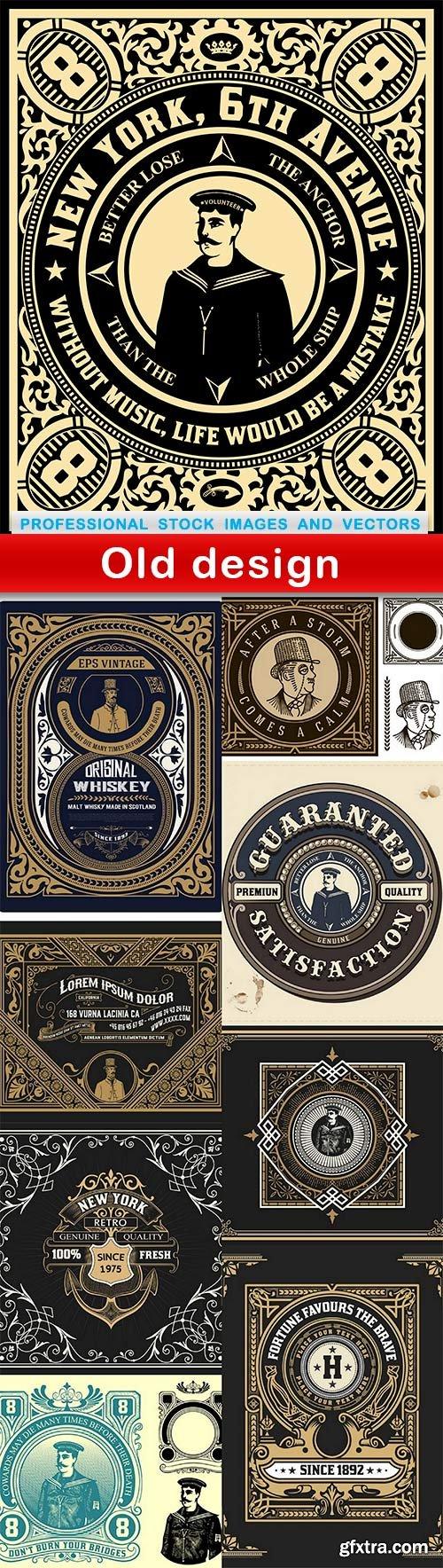 Old design - 9 EPS