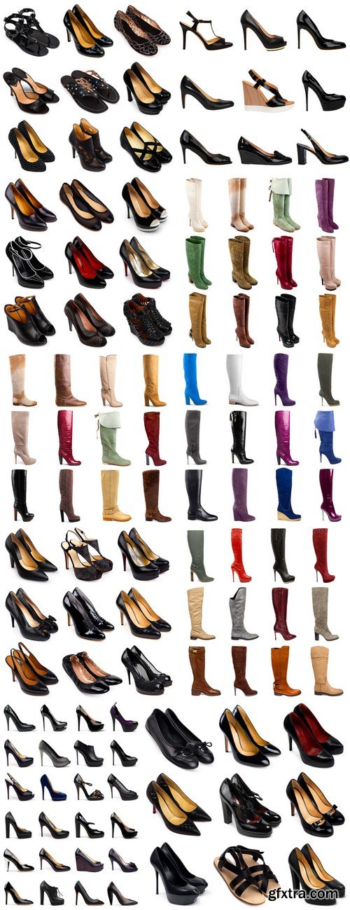 Female footwear collection - 11xUHQ JPEG