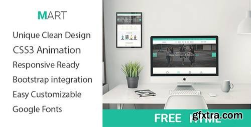 Mart – Onepage E-commerce HTML Responsive template