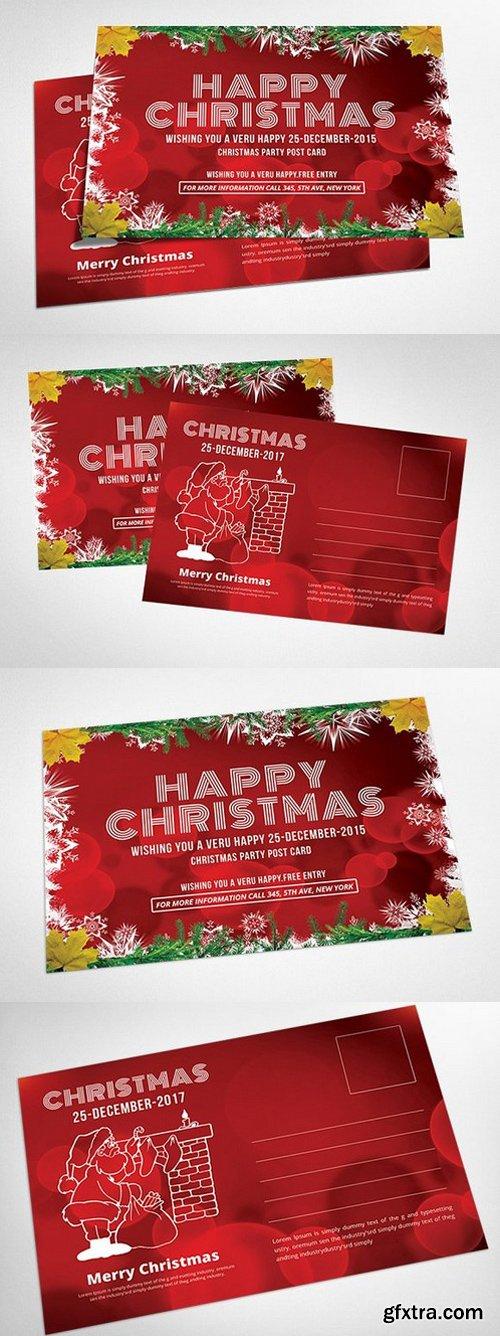 CM - Christmas Postcard Templates 938380