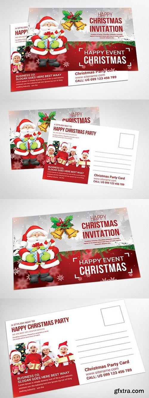 CM - Christmas - Postcard Templates 938378