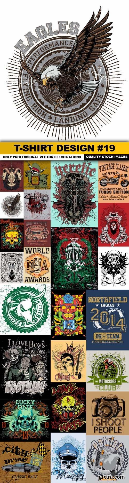 T-Shirt Design #19 - 25xEPS