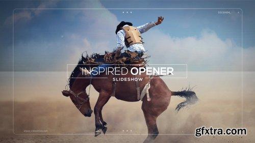Videohive Inspired Opener - Slideshow 18850427