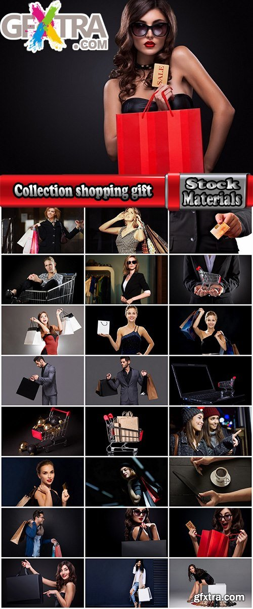 Collection buying selling female girl man shopping gift 25 HQ Jpeg
