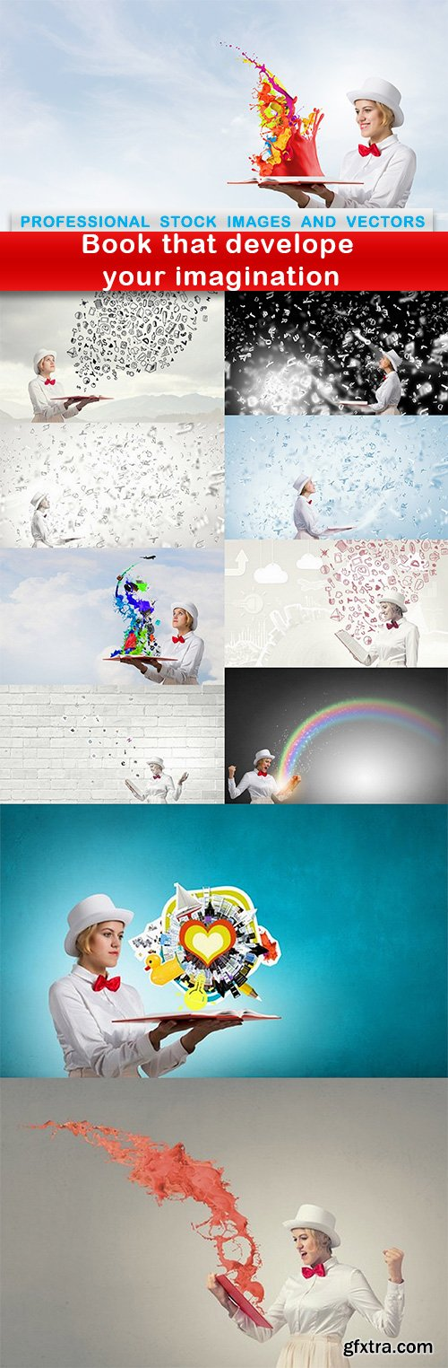 Book that develope your imagination - 11 UHQ JPEG