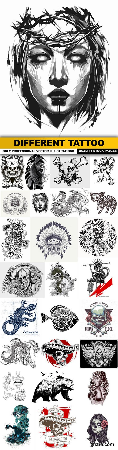 Different Tattoo - 26 Vector
