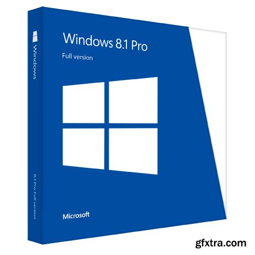 Windows 8.1 PRO AIO DUAL-BOOT UEFI OEM MULTi-6 Nov 2016