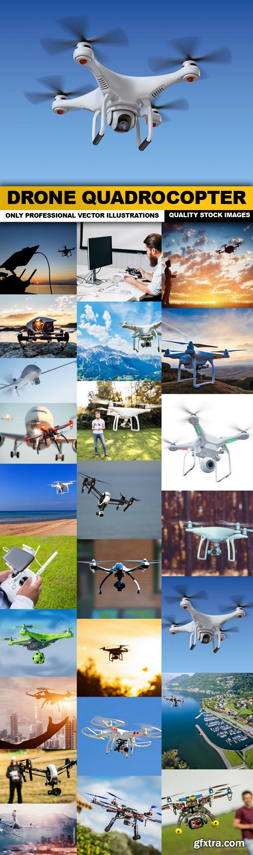 Drone Quadrocopter - 25 HQ Images