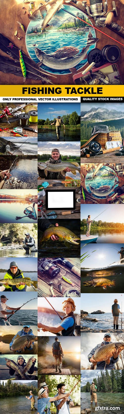 Fishing Tackle - 25 HQ Images