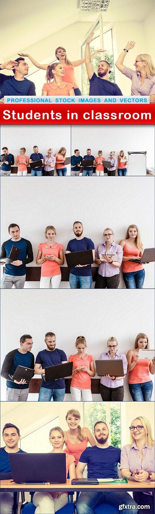 Students in classroom - 6 UHQ JPEG