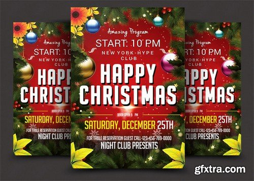 CM - Christmas Flyer 969047