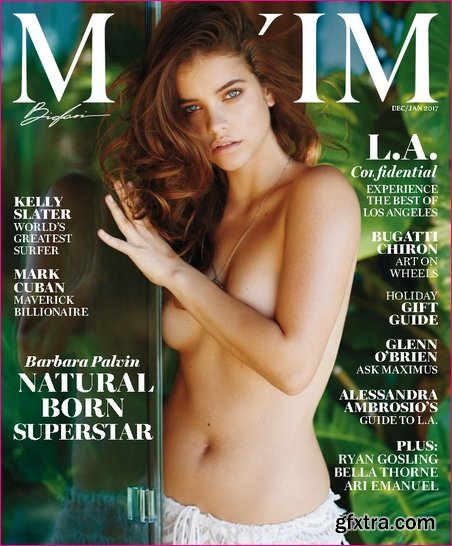 Maxim USA - December 2016 - January 2017