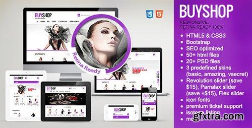 ThemeForest - BuyShop v1.1.8 - Premium Responsive Retina HTML Template - 6795553