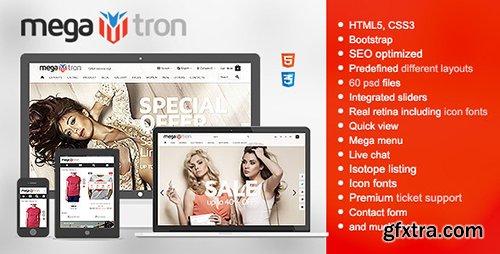 ThemeForest - Megatron v1.0.4 - Responsive HTML Shopping Theme - 9741530