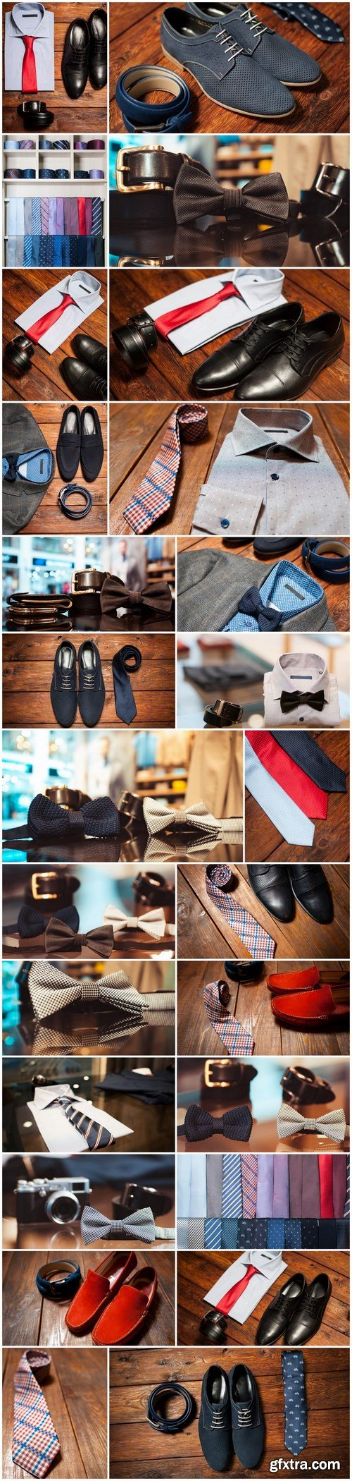 Men\'s Clothing and Accessories 2 - 26xUHQ JPEG Photo Stock