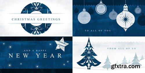 Videohive Parallax Christmas Greetings 18813550