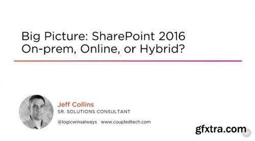 Big Picture: SharePoint 2016 On-prem, Online, or Hybrid?