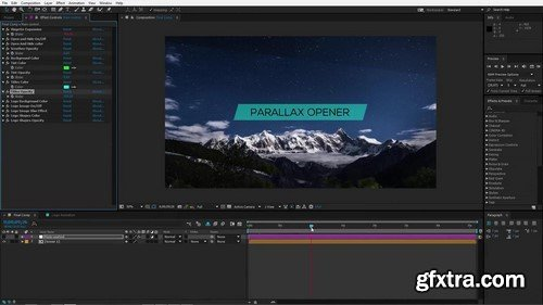 Motion Array - Parallax Opener After Effects Template
