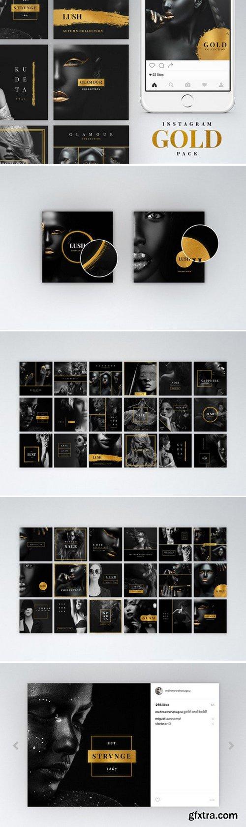 CM - Instagram Gold Pack 1061748