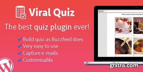 CodeCanyon - Wordpress Viral Quiz v2.09 - BuzzFeed Quiz Builder - 11178623
