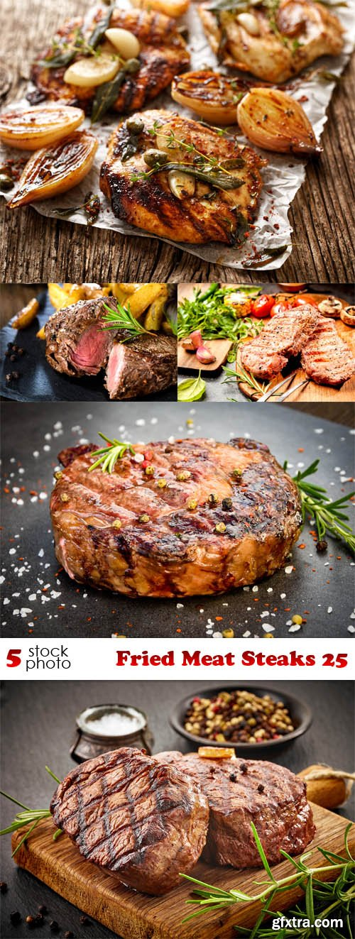 Photos - Fried Meat Steaks 25