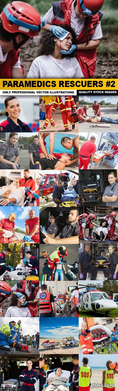 Paramedics Rescuers #2 - 25 HQ Images
